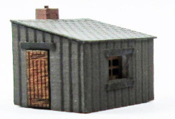 ANCORTON MODELS - Platelayers Hut (Ready to use model) 'N' Gauge
