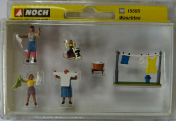 NOCH 15595 Washday 00/HO Model Figures