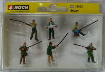 NOCH 15892 Fishermen 00/HO Model Figures