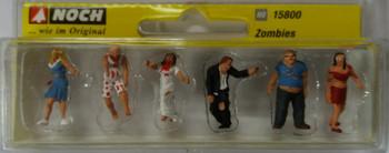 NOCH 15800 Zombies 00/HO Model Figures