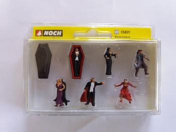 NOCH 15801 Vampires 00/HO Model Figures