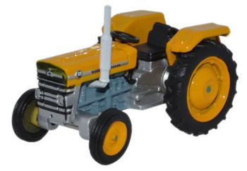 OXFORD DIECAST 76MF004  Massey Ferguson Tractor - Yellow '00'