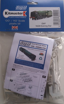 DAPOL C049 Evening Star Static Locomotive 00/H0 Plastic Kit