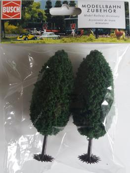 BUSCH 6053 Deciduous Trees (2) 10cm 00/HO