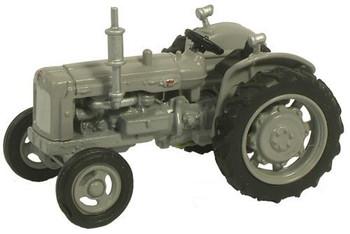 OXFORD DIECAST 76TRAC004 - Fordson Tractor - Grey '00'