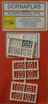 Dornalplas A1 - Sash Windows (12) 'N' Gauge