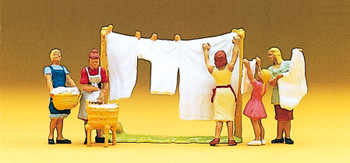 PREISER 10050 Women Hanging Laundry 00/HO Model Figures