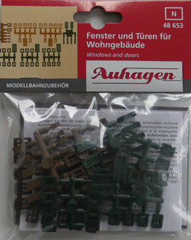 Auhagen 48653 Windows & Doors 'N' Gauge