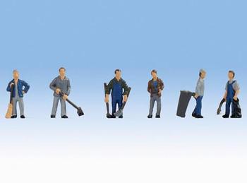 NOCH 15116 Caretakers 00/HO Model Figure Set