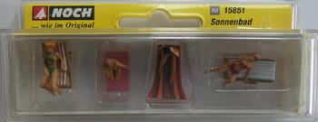 NOCH 15851 Sunbathers 00/HO Model Figure Set