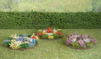 HSS FB Round Flower Beds x 3