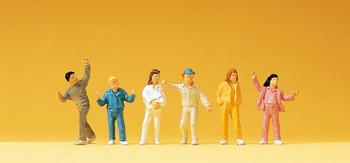 PREISER 14139 Children 00/HO Model Figures