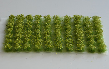 HSS 0402 - Self Adhesive Green 'Leafy' Grass Tufts