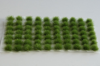 HSS 0421 - Self Adhesive Dark Green Grass Tufts