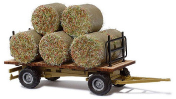 BUSCH 44930 Hay Bays On Farm Trailer 00/HO