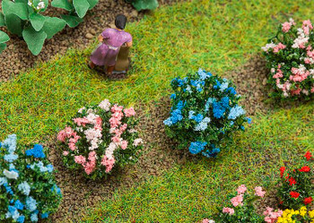 FALLER 181271 Hydrangeas (12) 00/HO Model Plants