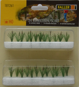 FALLER 181261 Cattails/Reeds (24) 00/HO Model Plants