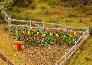 FALLER 181262 Tulips (36) 00/HO Model Plants