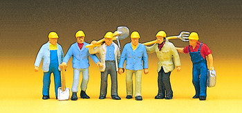 PREISER 10033 Track Workers 00/HO Model Figures