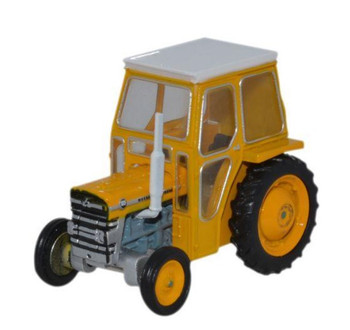 OXFORD DIECAST 76MF002  Massey Ferguson 135 Tractor - Yellow '00'