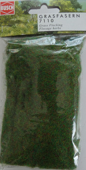 BUSCH 7110 Dark Green Mix Static Grass 2-3mm (20g)
