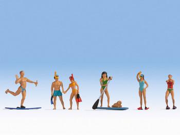 NOCH 15854 Water Sports 00/HO Model Figure Set
