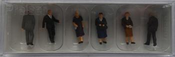 PREISER 10559 Churchgoers 00/HO Model Figures