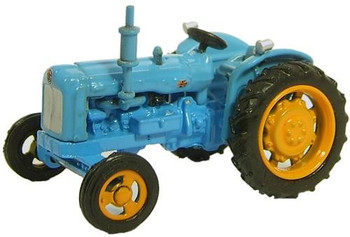 OXFORD DIECAST 76TRAC001 - Highways Fordson Tractor - Blue '00'