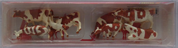 FALLER 151903 Brown & White Cows 00/HO Model Animals