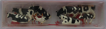 FALLER 151904 Friesian Cows 00/HO Model Animals