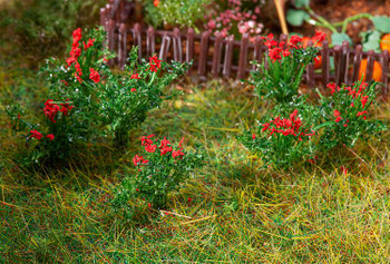 FALLER 181281 Rose Bushes (26) 00/HO Model Plants