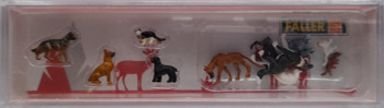 FALLER 151902 Dogs & Cats 00/HO Model Figures