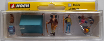 NOCH 15876 Camping 00/HO Model Figure Set