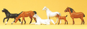 PREISER 10150 Horses 00/HO Model Figures