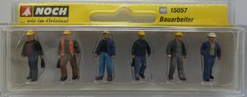NOCH 15057 Construction Workers 00/HO Model Figure Set