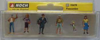 NOCH 15478 Pedestrians 00/HO Model Figure Set
