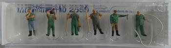 MERTEN 2559 Zoo Keepers 00/HO Model Figures