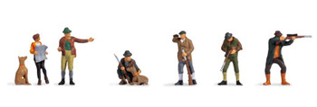 NOCH 15059 Hunters 00/HO Model Figures