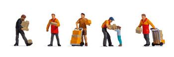 NOCH 15069 Parcel Carriers 00/HO Model Figures