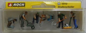 NOCH 15112 Road Workers 00/HO Model Figures