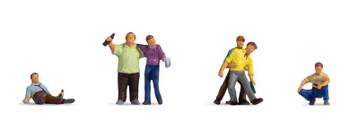 NOCH 15559 Drunk People 00/HO Model Figures