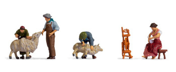 NOCH 15751 Sheep Shearers 00/HO Model Figures