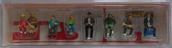 FALLER 151617 Passengers Sitting 00/HO Model Figures