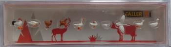 FALLER 151909 Hens, Ducks & Geese 00/HO Model Figures