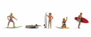 NOCH 15853 Surfers 00/HO Model Figures