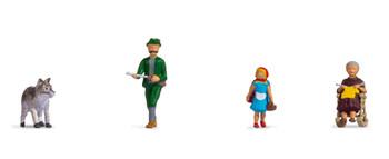 NOCH 15805 Little Red Riding Hood 00/HO Model Figures