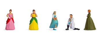 NOCH 15807 Cinderella 00/HO Model Figures