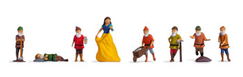 NOCH 15803 Snow White & The Seven Dwarfs 00/HO Model Figures