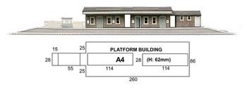 SUPERQUICK A4 Island Platform Building