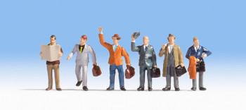 NOCH 15226 Business Travellers 00/HO Model Figures